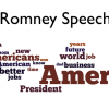 Romney Speech