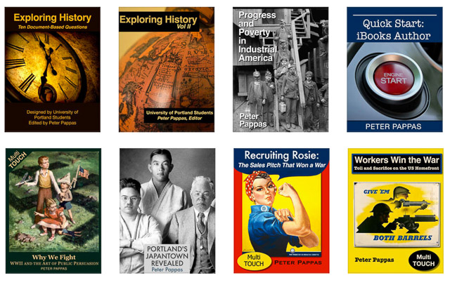 Eight iBooks by Peter Pappas