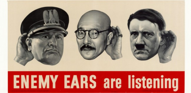 enemy ears are listening