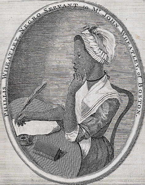 Illustration for Phillis Wheatley Poems on Various Subjects