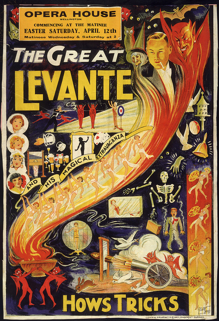The Great Levante in Wellington, 1941